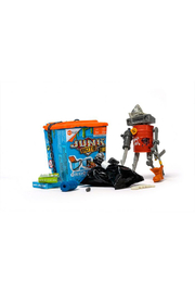 Hex Bug Junkbots Trash Can Assortment - Front full body