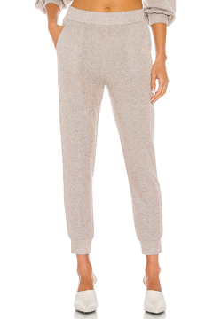 Cupcakes & Cashmere Juno Metallic Jogger - Product List Image