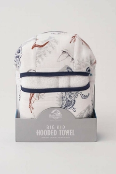 Little Unicorn Jurassic Hooded Towel - Product List Image