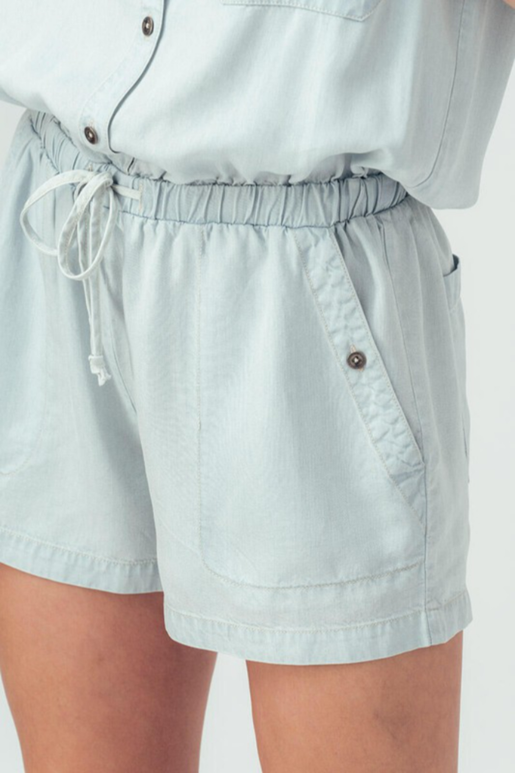 Trend Notes  Just A Summer Day Romper - Back Cropped Image
