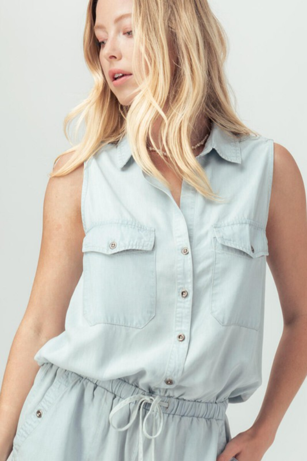 Trend Notes  Just A Summer Day Romper - Side Cropped Image