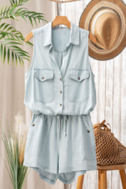 Trend Notes  Just A Summer Day Romper - Front cropped