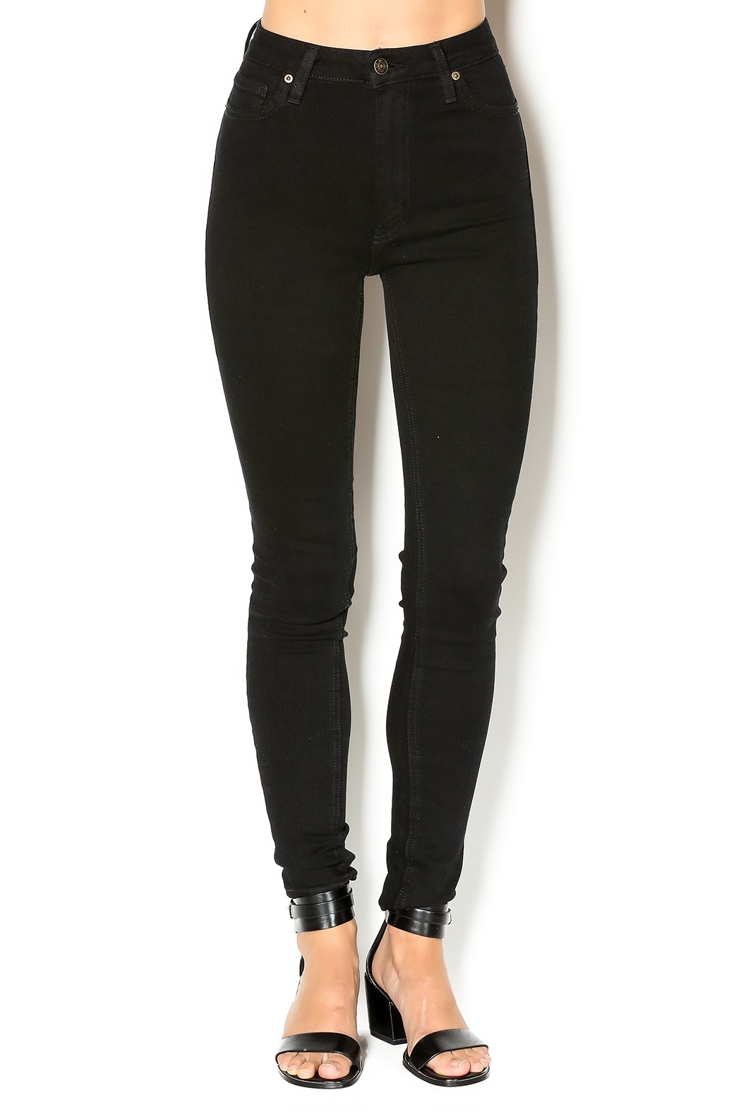 just black Black Skinny Jean - Main Image
