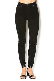 just black Black Skinny Jean - Front cropped