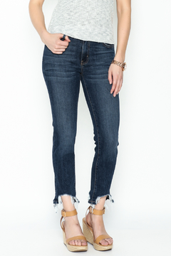 just black Cropped Straight Jeans - Product List Image