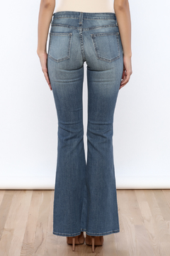 Shoptiques Product: Distressed Bell Bottoms