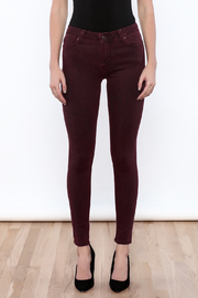 just black Over Dye Skinny Jeans - Side cropped
