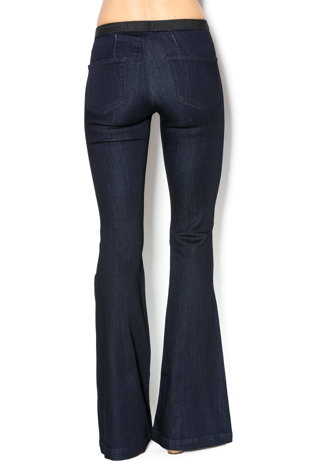 just black Pull On Flare Jeans from New Orleans by Candy Apple ...