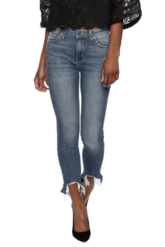 Shoptiques Product: Ripped Fray Hem Jean