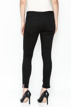 just black Side Panel Skinny Jean - Alternate List Image