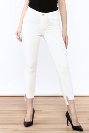 just black White Skinny Jean - Product Mini Image