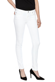just black White Super Soft Jeggings - Front cropped