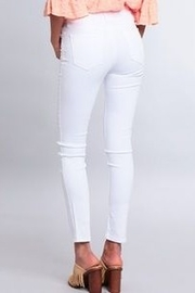 Just Black Denim just Black White Skinny Denim - Front full body