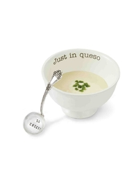 Mud Pie Just In Queso Dip Set - Front cropped