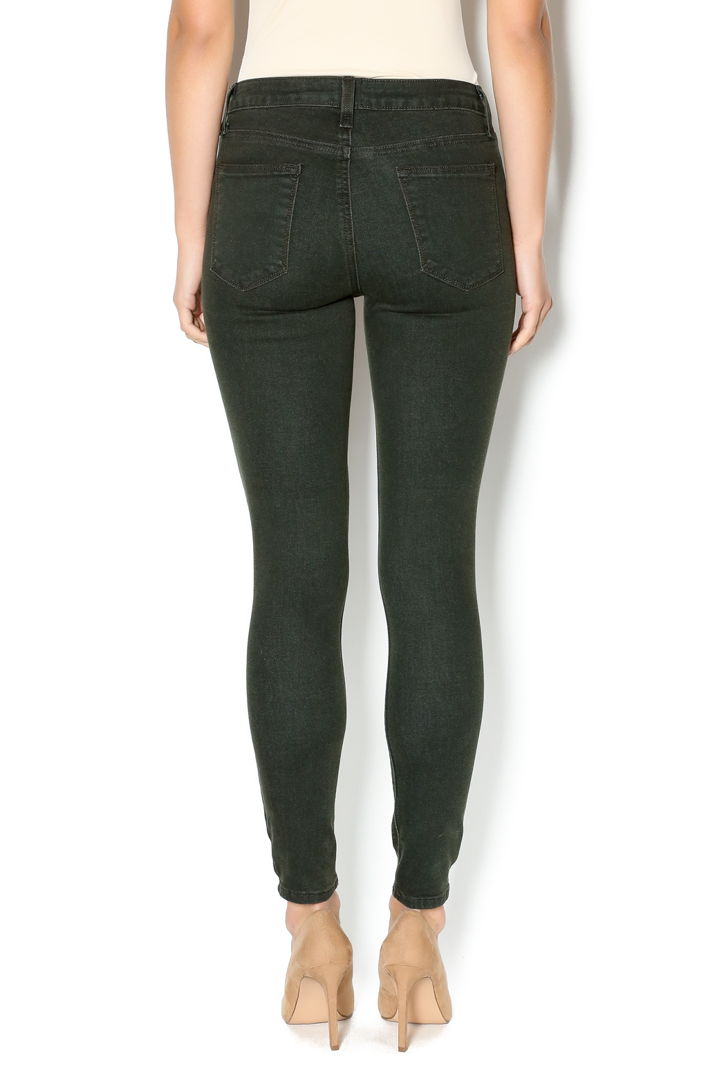 Just Jeans Olive Slit Skinny Jeans From Boston By Hello