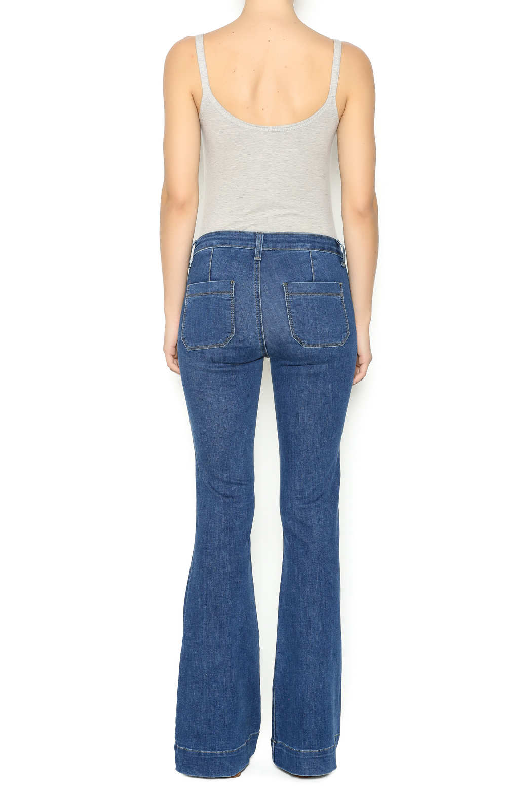 31517c0e227 Just Jeans Patch Pocket Flare Jeans from Boston by Hello Caroline ...
