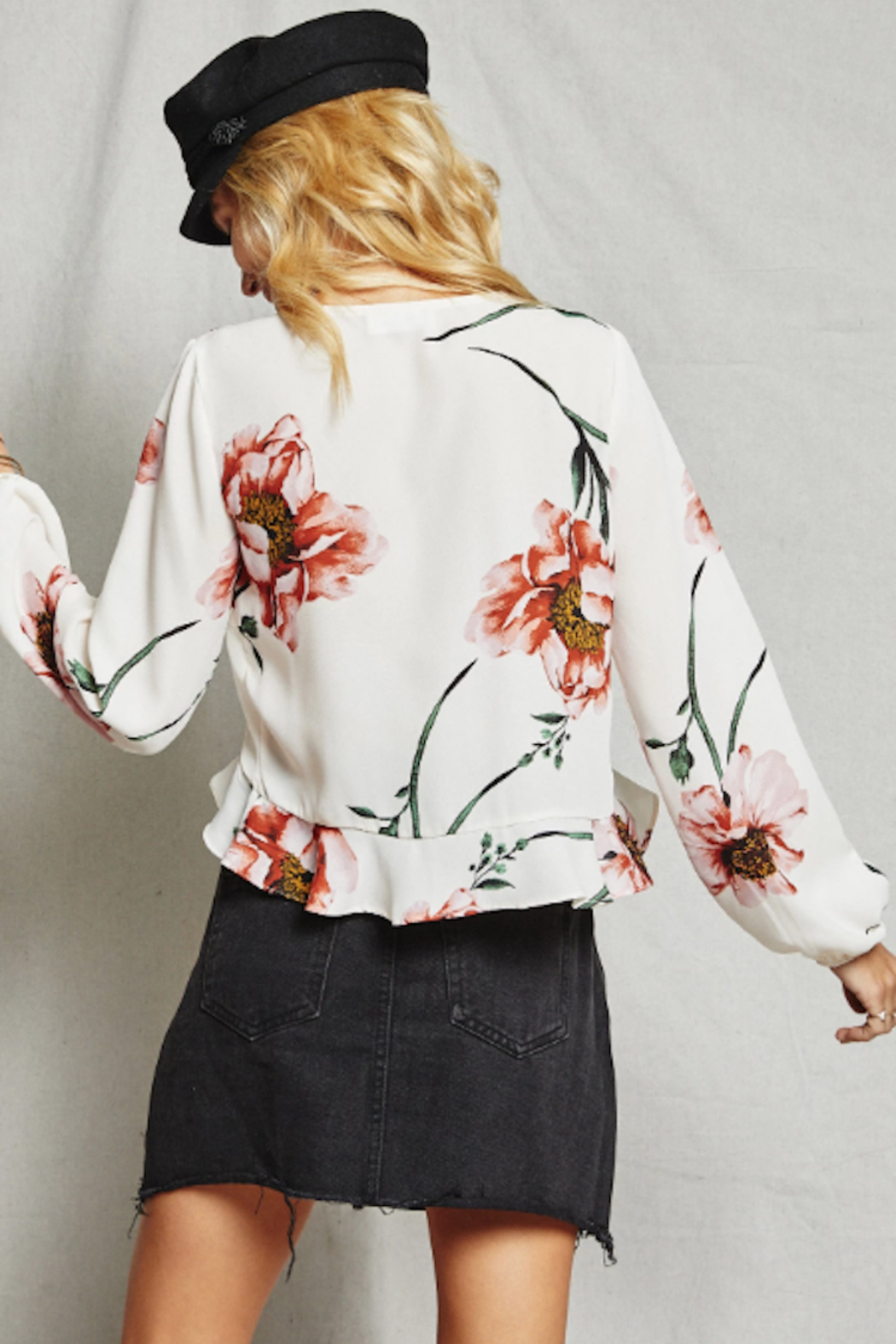 SAGE THE LABEL Just Like Heaven Top - Front Full Image
