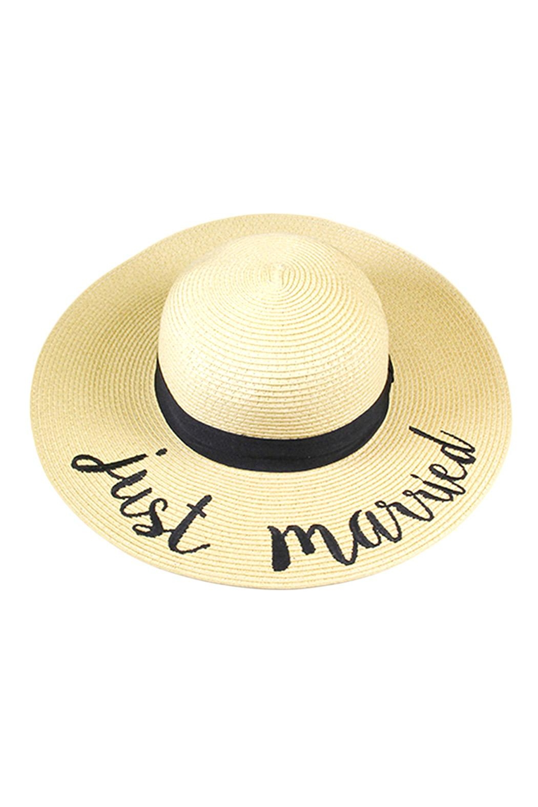 Wild Lilies Jewelry  Just Married Hat - Main Image