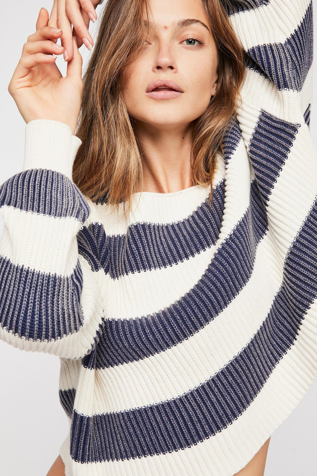 Free People Just My Stripe - Front Cropped Image