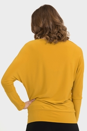 Joseph Ribkoff  Just Relax Batwing Top in Aspen Gold - Product Mini Image