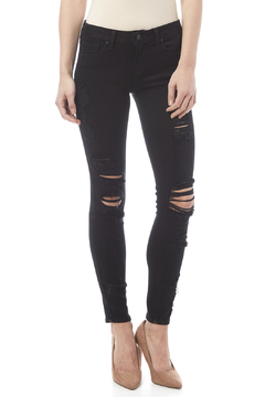Shoptiques Product: Destroyed Ripped Skinny Jean