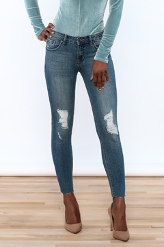 Shoptiques Product: Mid-Rise Skinny Jean