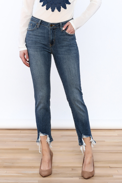 Shoptiques Product: Shredded Ankle Jeans