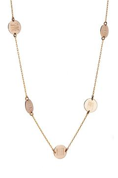 Shoptiques Product: Five Coins Necklace