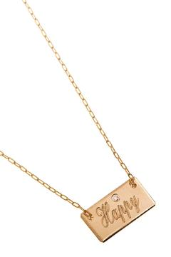 Shoptiques Product: Small Square Necklace