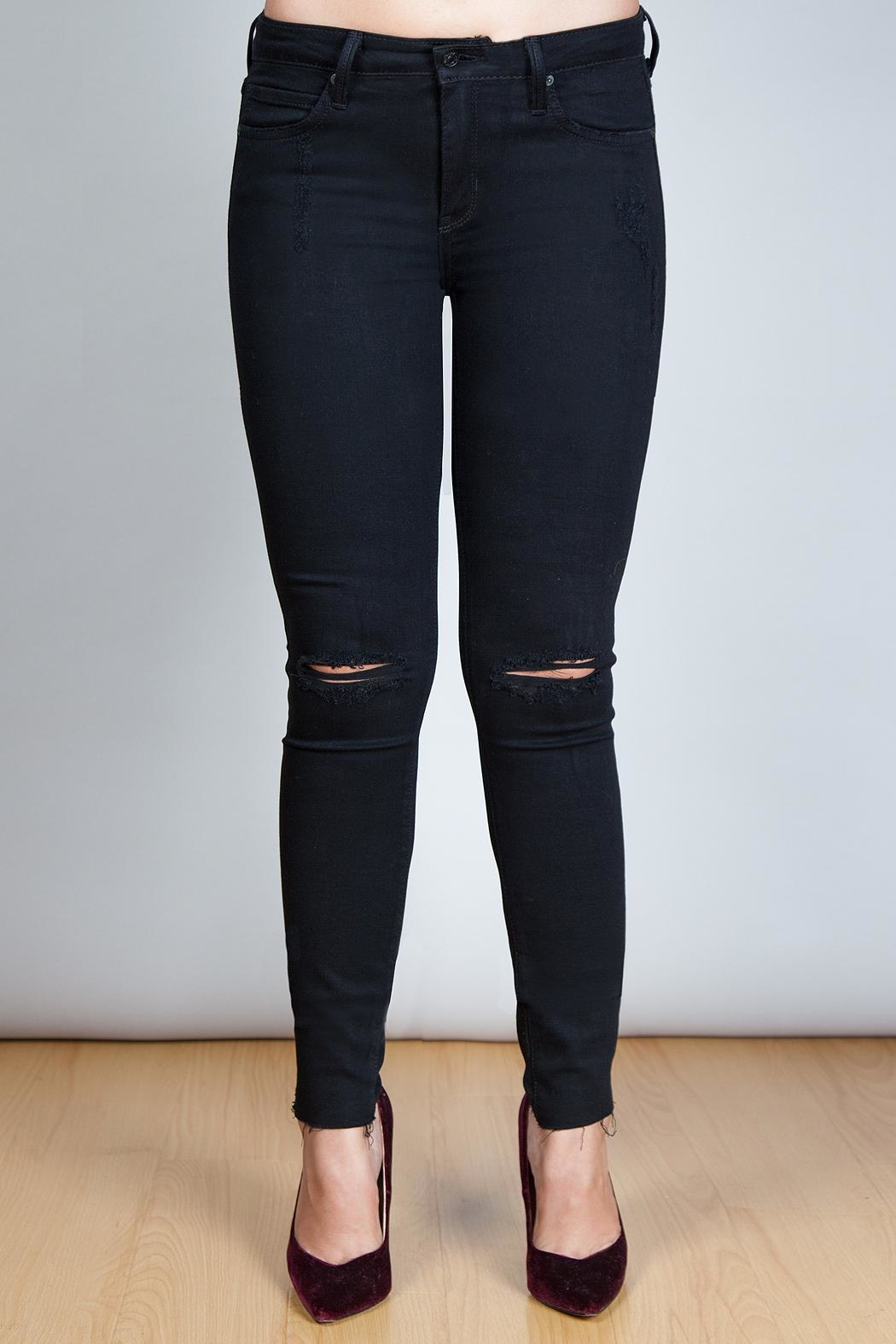 just black Black Jeans - Main Image