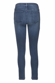just black Ankle Skinny Denim Jeans - Side cropped