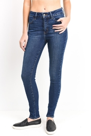 just black Ankle Skinny Jeans - Product Mini Image