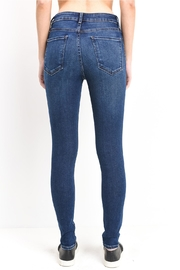 just black Ankle Skinny Jeans - Side cropped