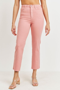 just black Blush Hr Straight Jean - Product List Image