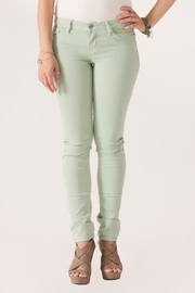 just black Cigarette Skinny Jeans - Front full body