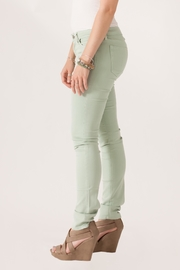just black Cigarette Skinny Jeans - Side cropped