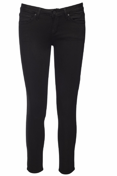 just black Cropped Super Skinny Jeans - Product List Image