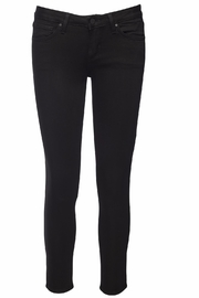 just black Cropped Super Skinny Jeans - Product Mini Image