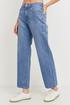 just black Dad Jean (Usa Made) Ultra High Waist 100% Rad. - Product List Image