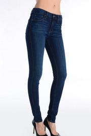just black Dark Denim Jean - Product Mini Image