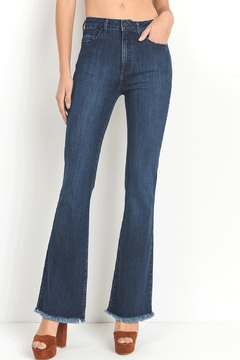 just black Dark Flare Jeans - Product List Image