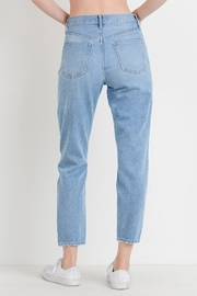 just black Distressed Mom Jean - Side cropped