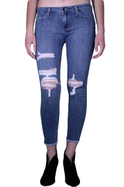 just black Fray Hem Destroyed - Product Mini Image