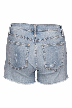 just black Frayed Hem Shorts - Alternate List Image