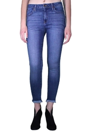 just black Hem Destruction Skinny - Product Mini Image