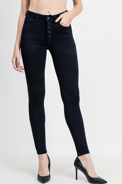 just black Hi-Rise Skinny Jeans - Product List Image