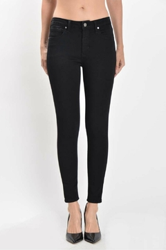 just black High Rise Ankle Skinny - Product List Image