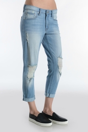 just black High Rise Crop Jean - Side cropped