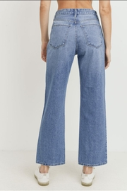 just black High - Rise Dad Jean - Side cropped