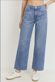 just black High - Rise Dad Jean - Product Mini Image